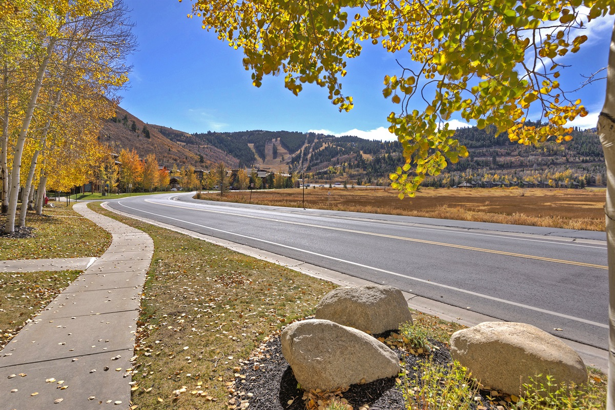 Deer Valley Drive - view of Deer Valley Resort