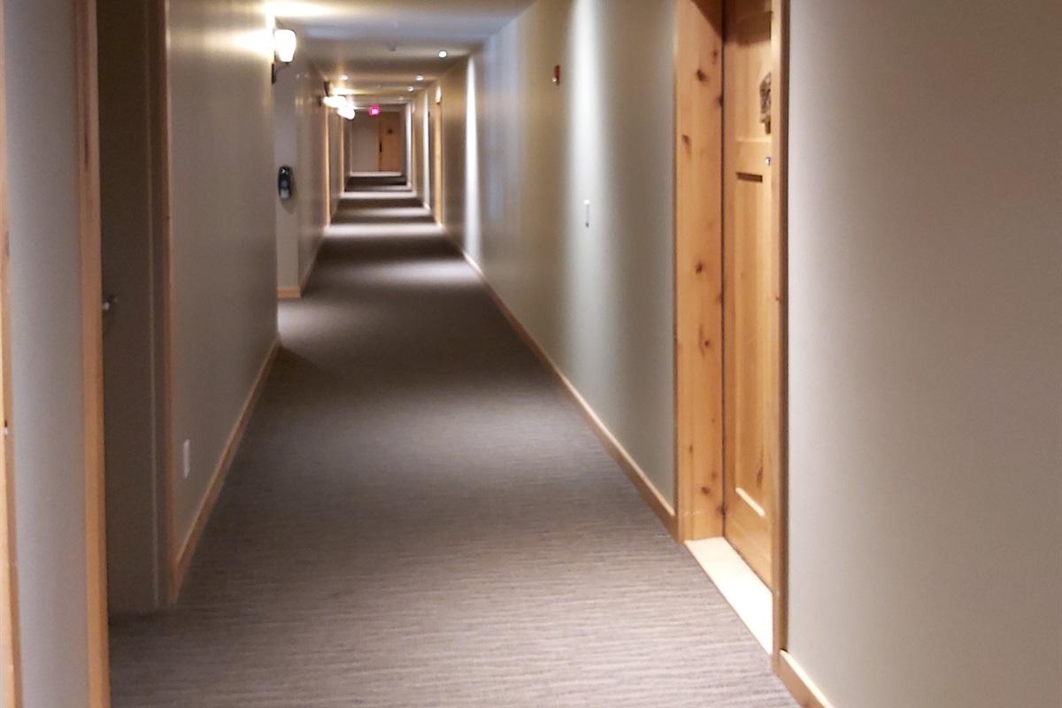 Barrier free hallways
