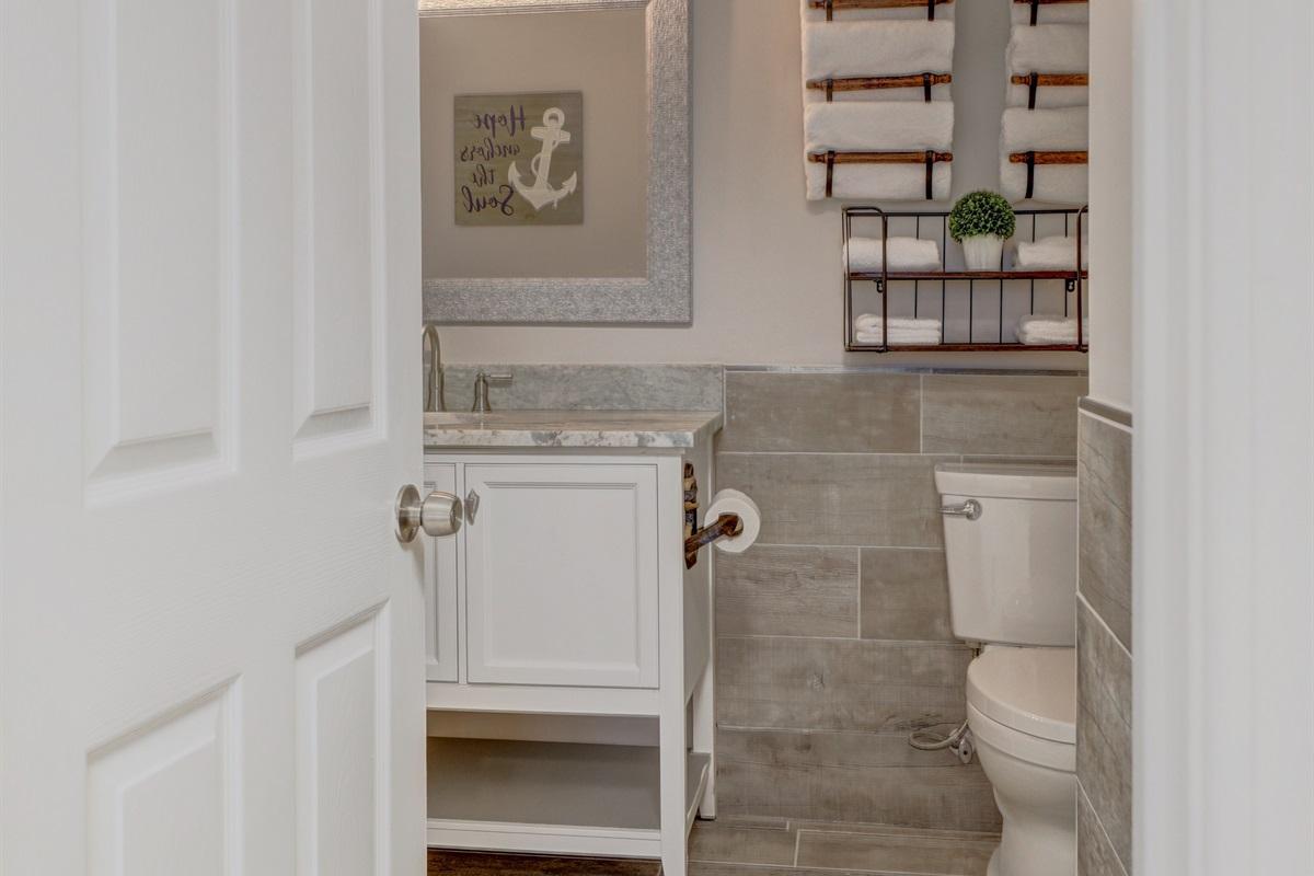 Bathroom Access off of Bedroom