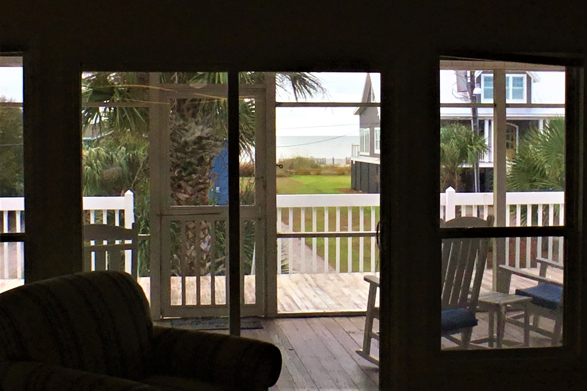 Views of the Ocean from Family Room