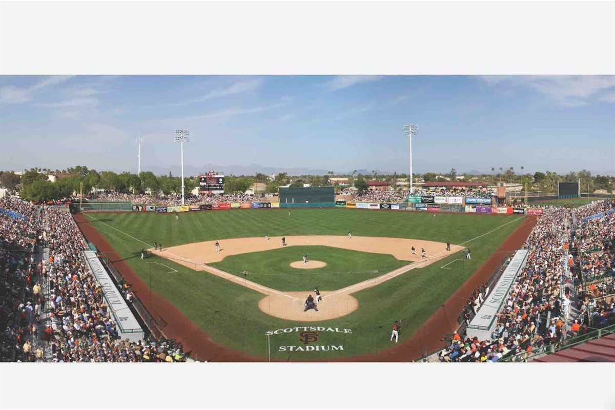 Arizona is home to spring training baseball with the Arizona Diamondbacks and San Francisco Giants stadiums in Scottsdale.