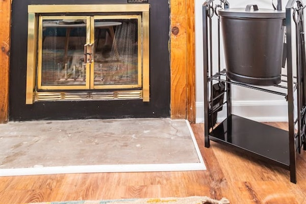 Fireplace+smart TV
