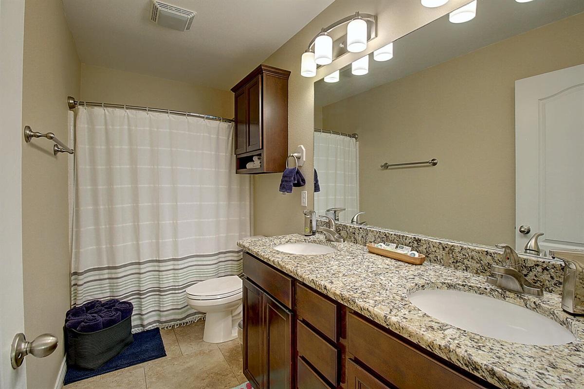 Master Bedroom:  Private Bath.