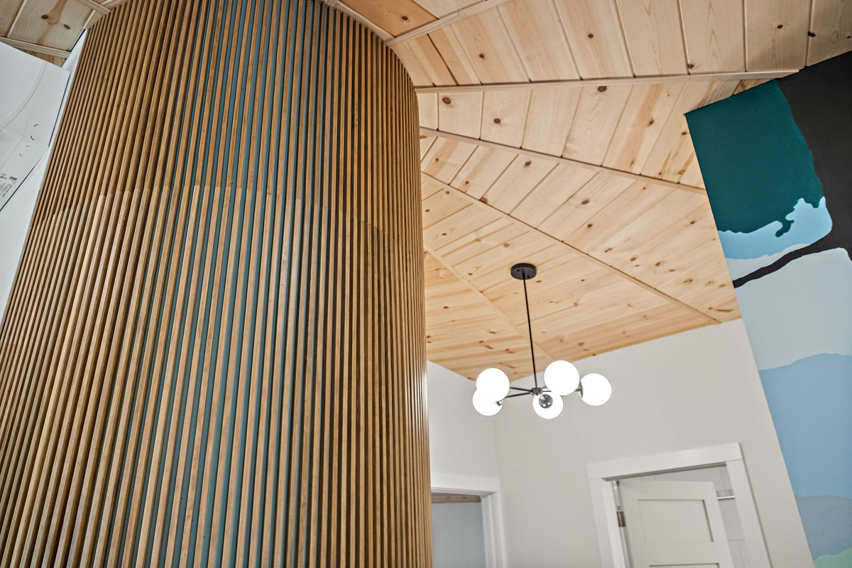 We love the design details of this place, and trust that you will too.