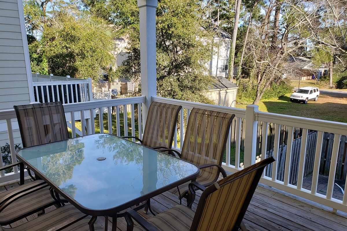 Patio Area Table and Chairs