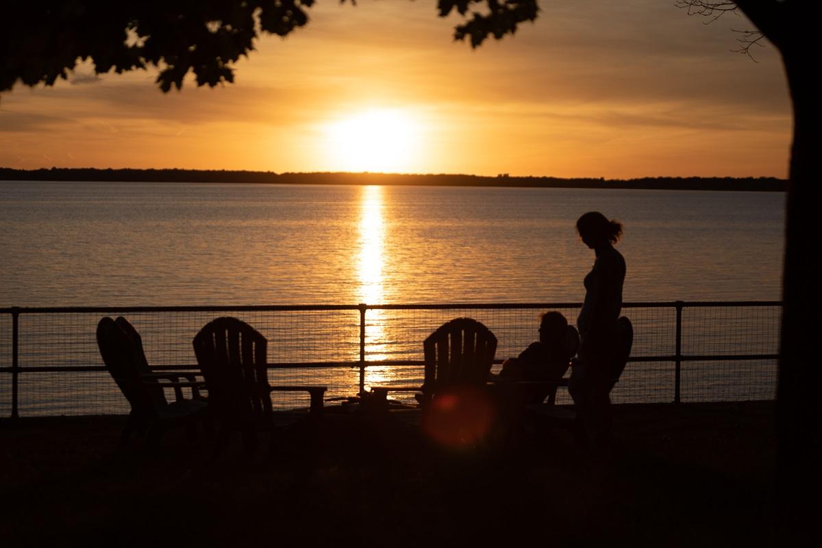 Gorgeous sunset views
