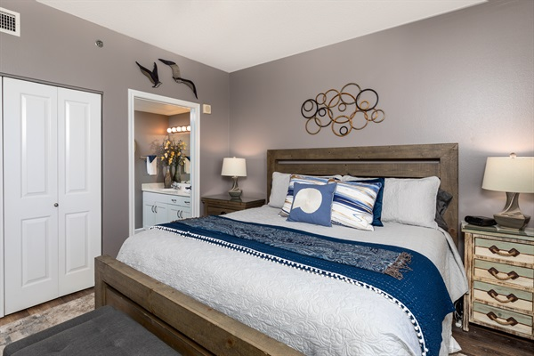Primary Bedroom w/ Full Bath