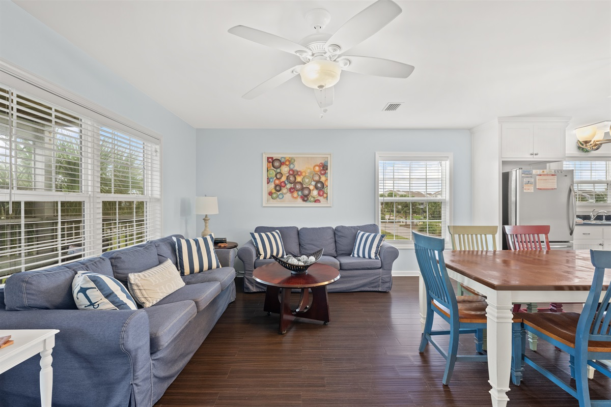 Living Area (Main Floor, 2nd Level)
