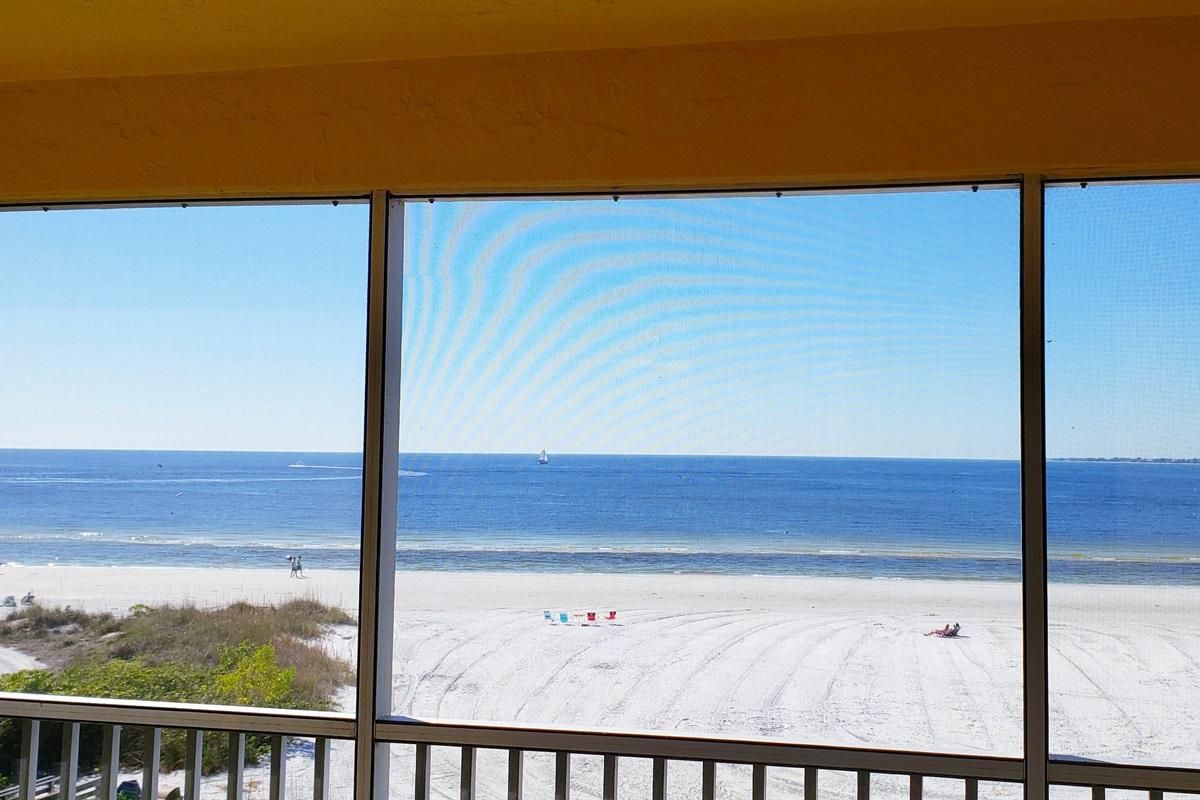 Beautiful views of the beach & water