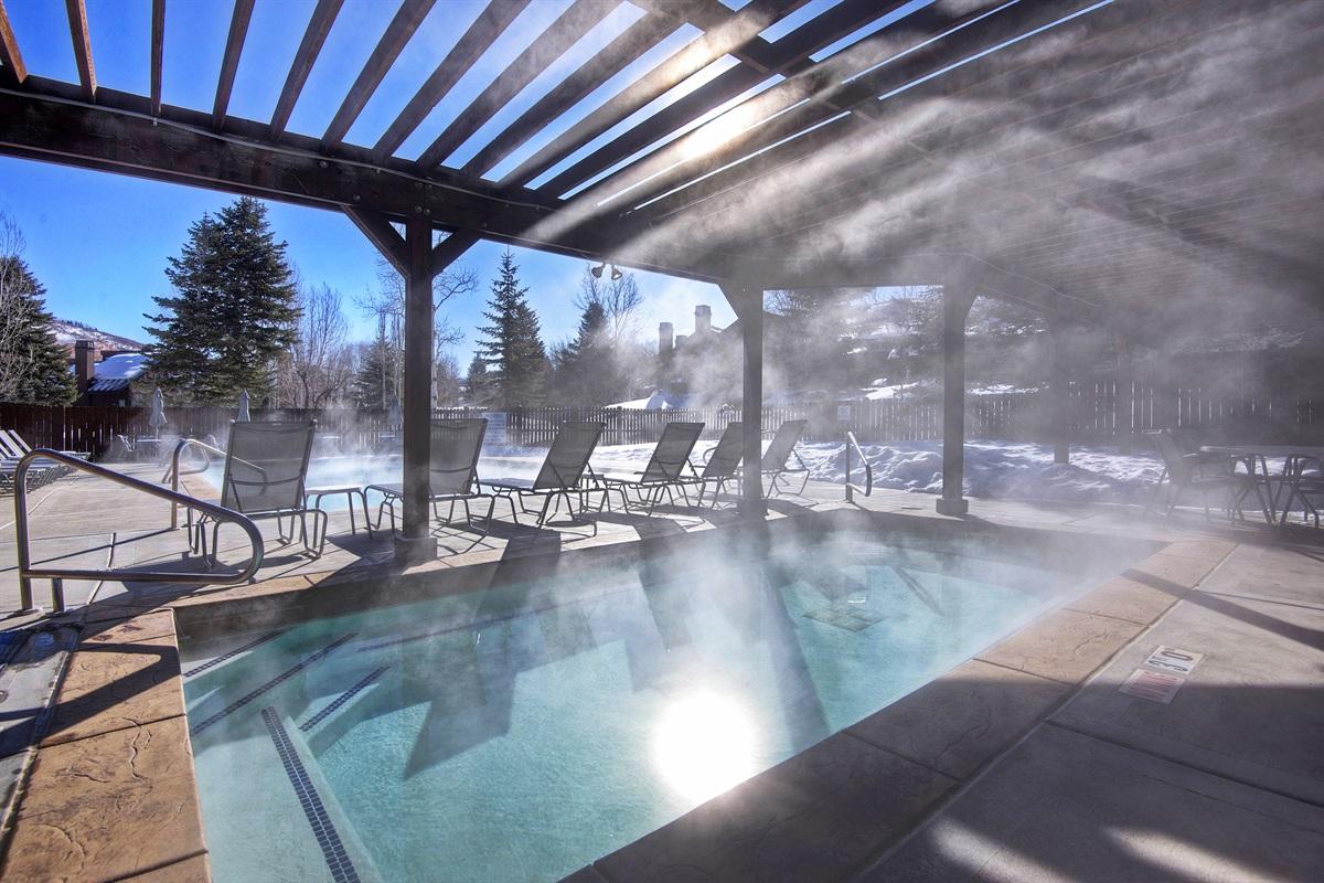 Huge Hot tub
