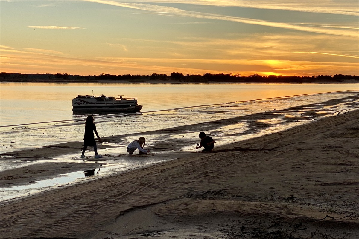 Sanders Island View Sunset