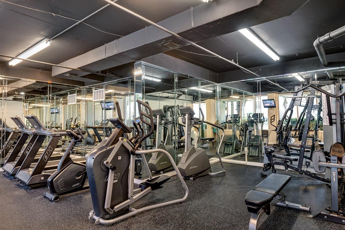 On-site fitness room