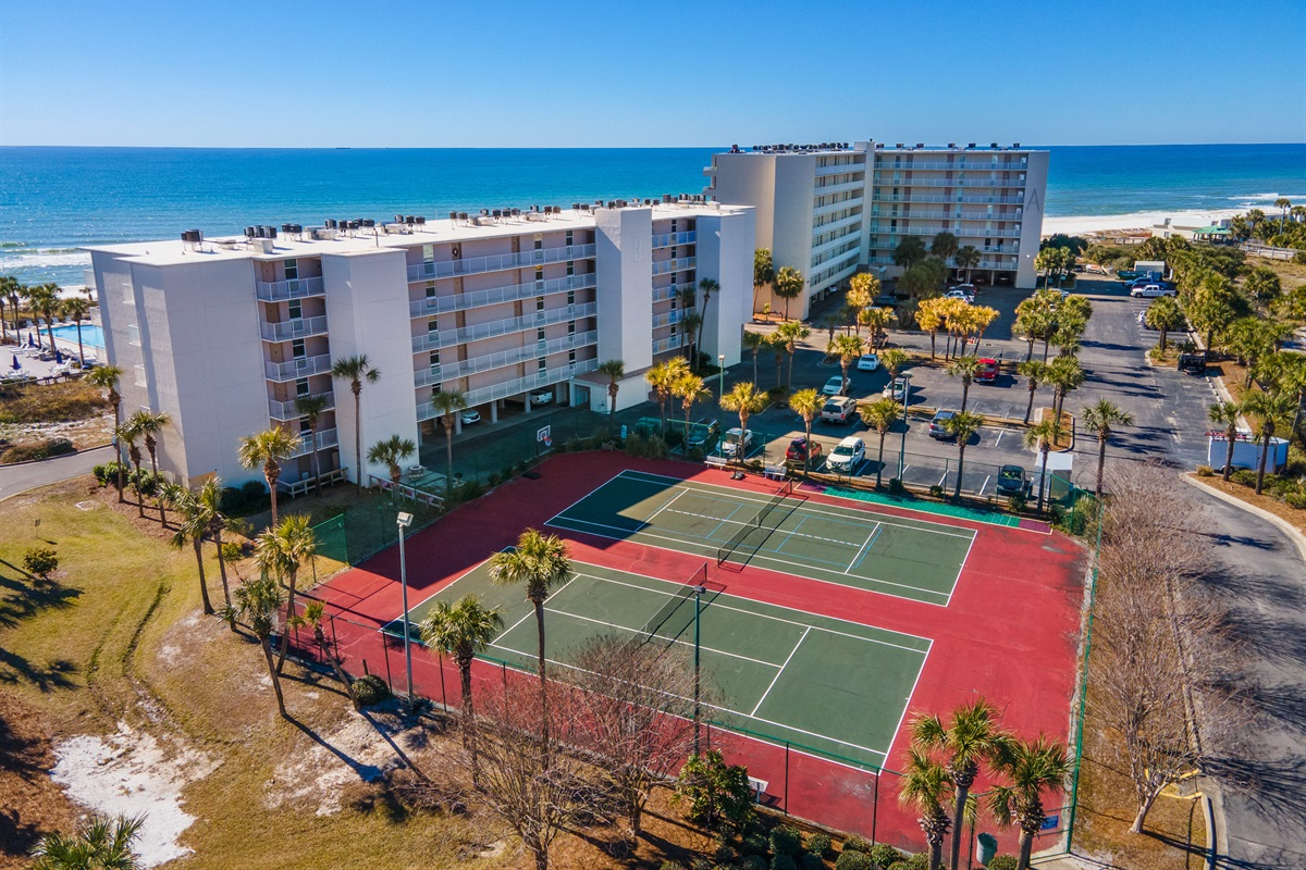 Aerial View of Dunes of Panama ~ Tennis Courts