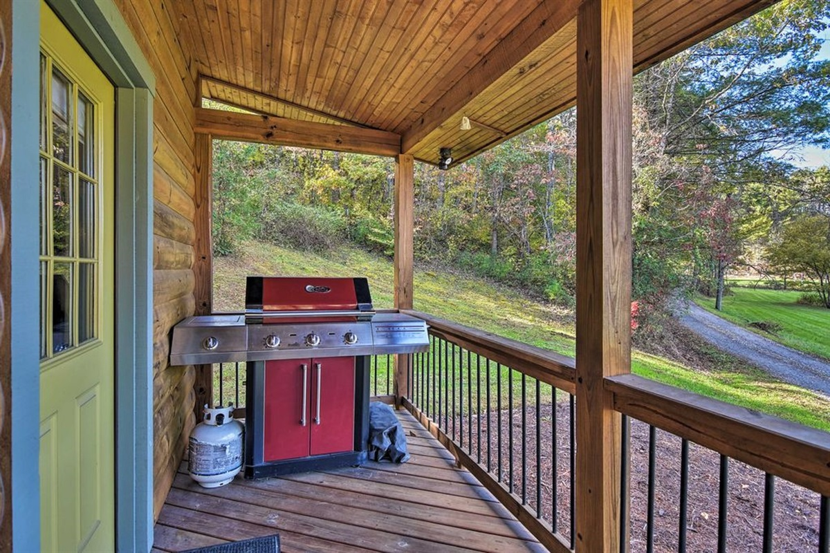 Fire up the gas grill for a family cookout!