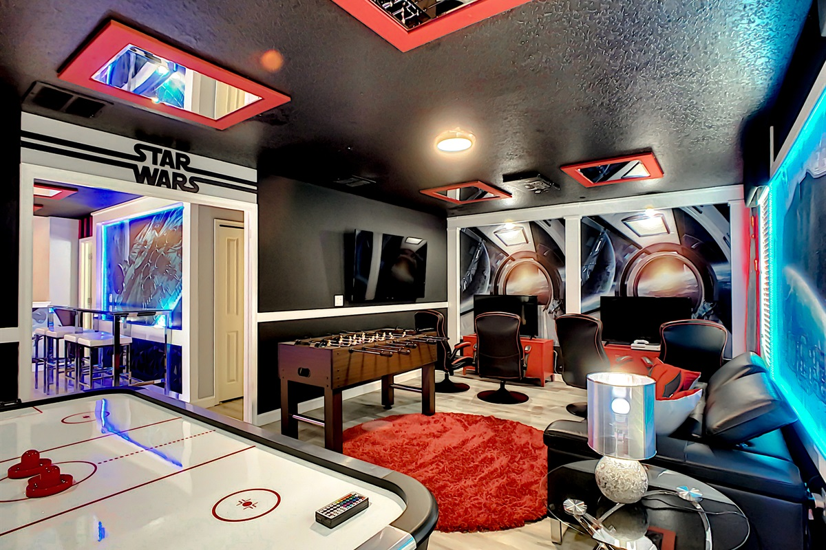 a Kids Game Room,