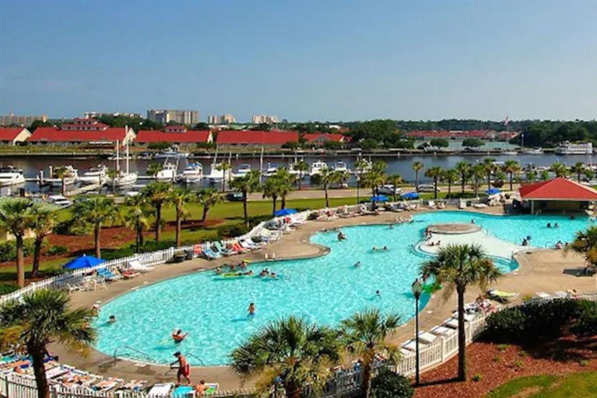 Barefoot Resort Salt Water Pool