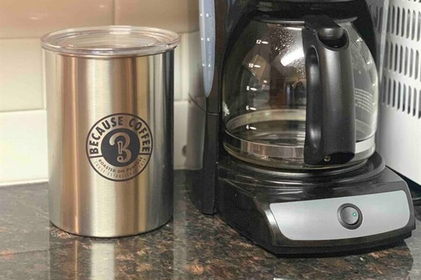 We carry locally owned Because Coffee in our cabins. It is freshly roasted and delivered for our guests!