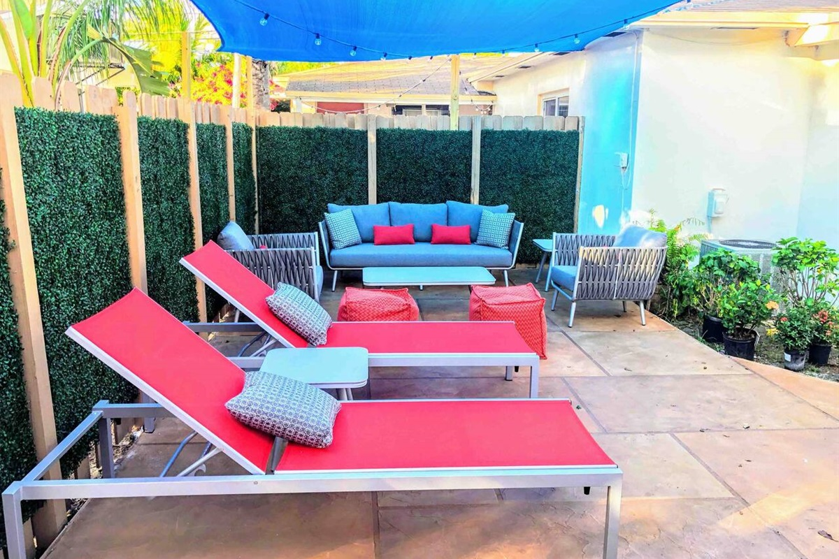 """""""Place was sparkling clean and back yard is an oasis. Everything worked as described and very nice touches to the property. They obviously have pride in the place and would rent again if in the area."""" ~D.J., Napa, CA"""