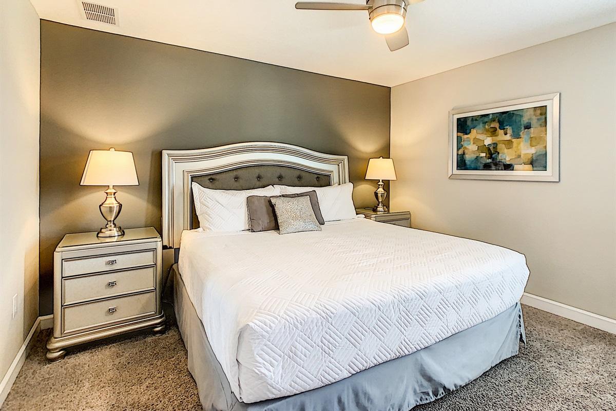 Bedroom #7-2nd Floor-King Bed