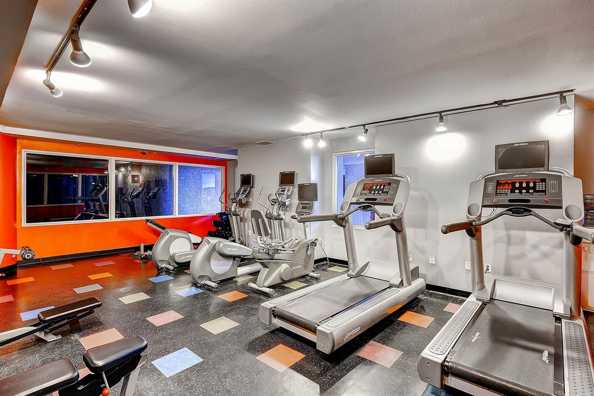 One of 3 workout rooms