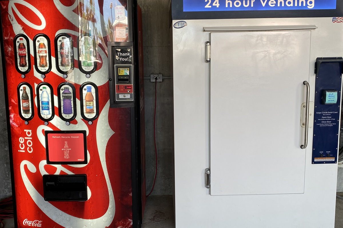Vending for your convenience!