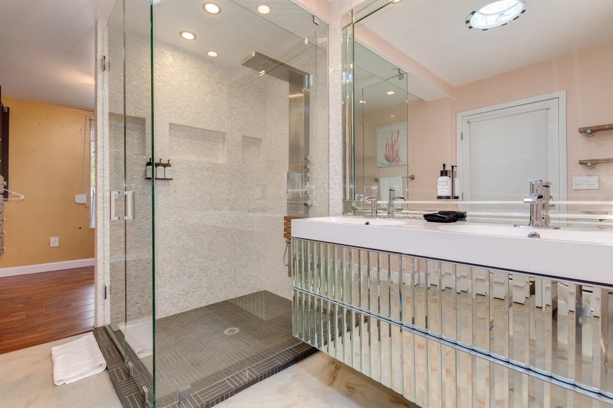master bath w/ walk in closet