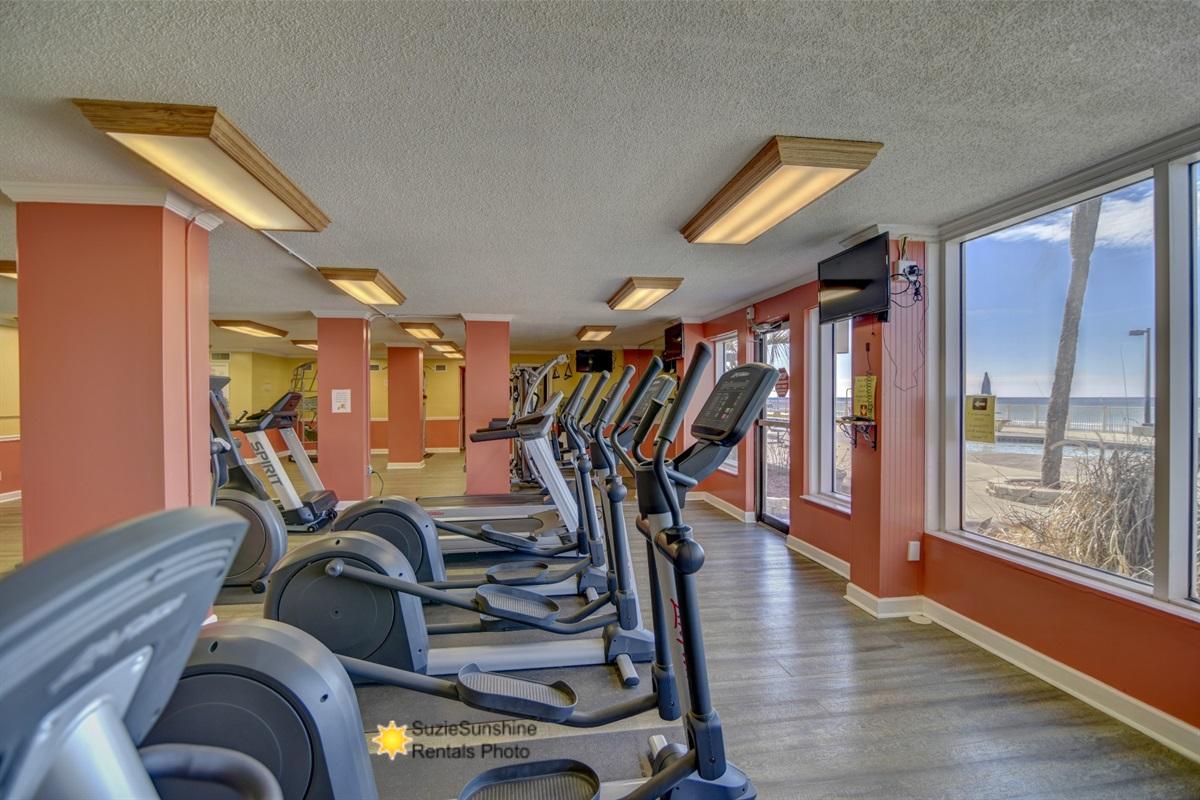 Beachfront Gym