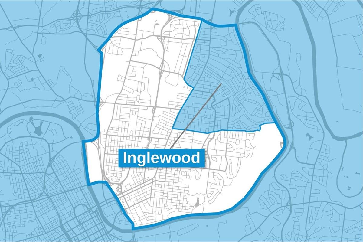Inglewood is in the Northwest Corner of East Nashville, Well Established Area!