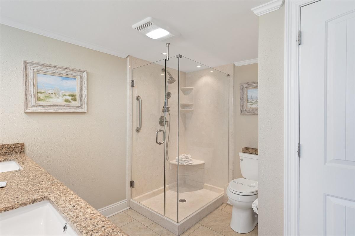Master Bath with Walk-In Shower