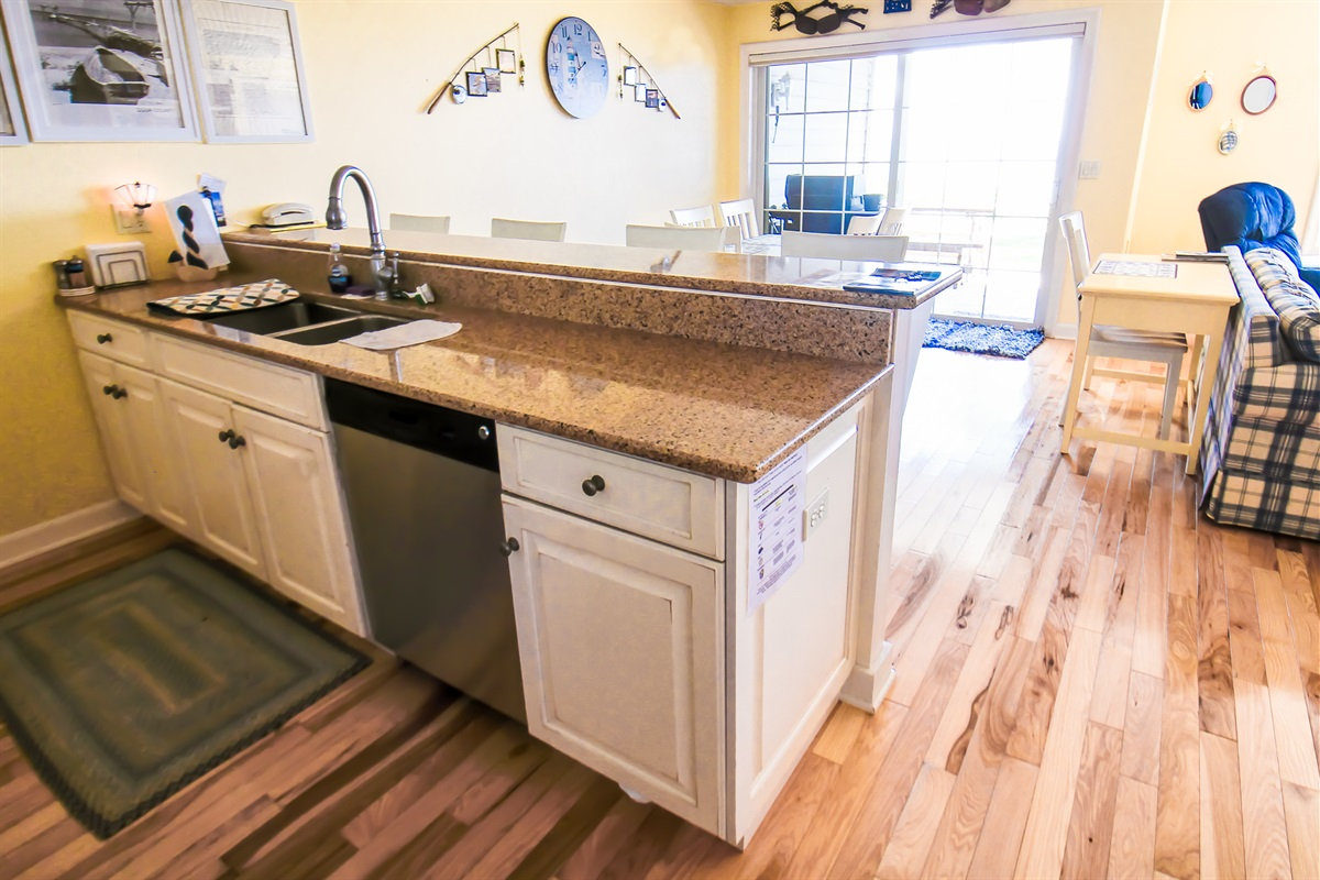 Double Sink/Dishwasher