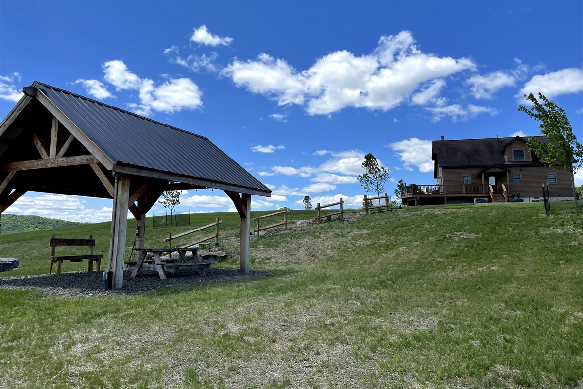Skyview Acres and pavilion