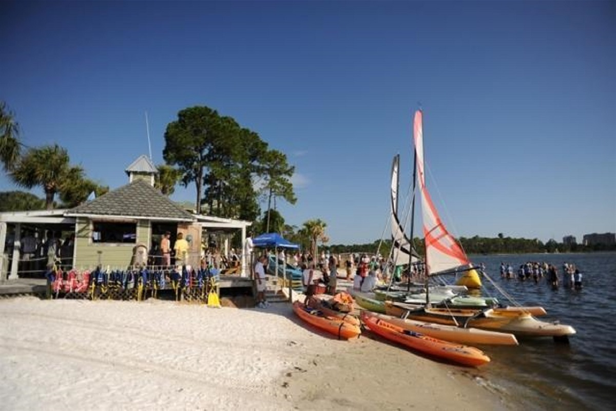 Watersports and Bay beach within walking distance
