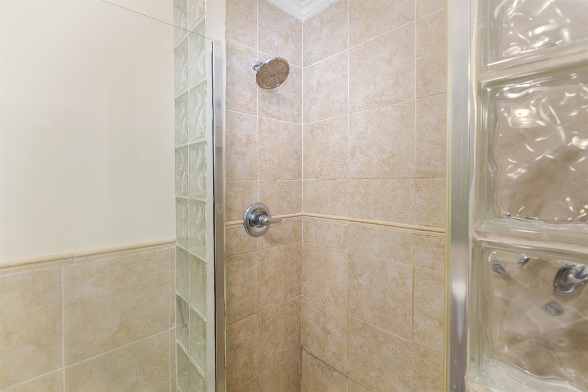 Two-sided shower (left)