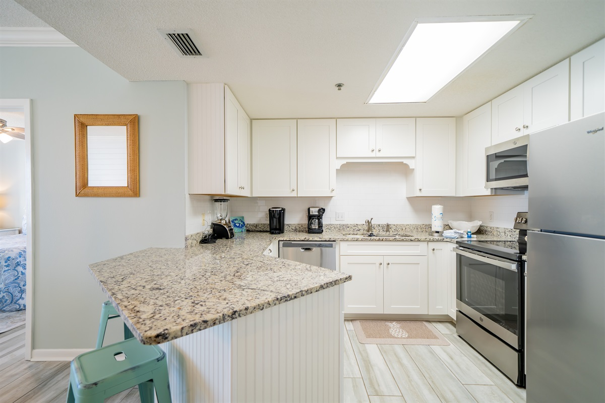 Kitchen - All stainless appliances!