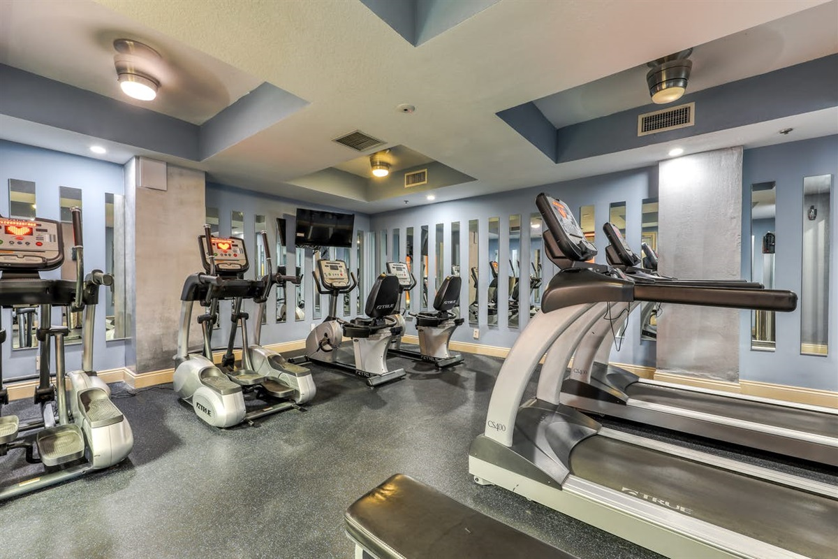 Fitness Room (closed due to Covid)