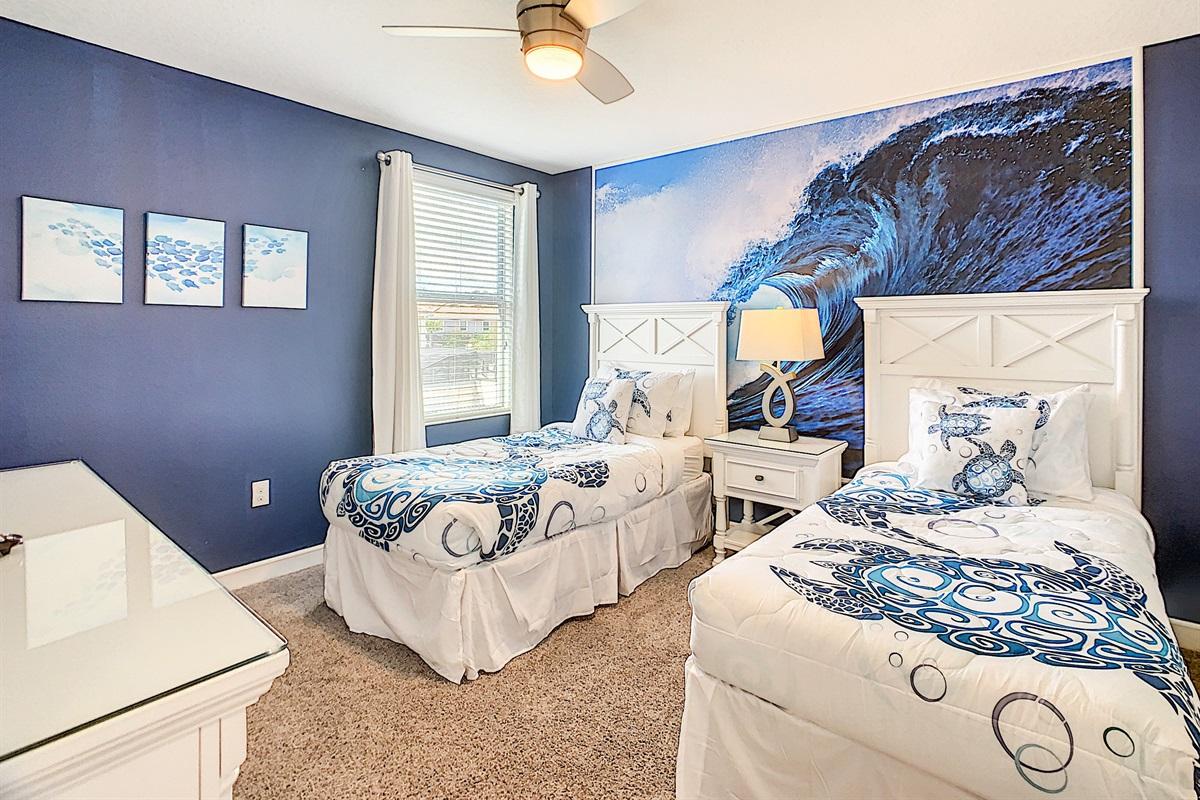 Bedroom #8-2nd Floor-Twin Beds