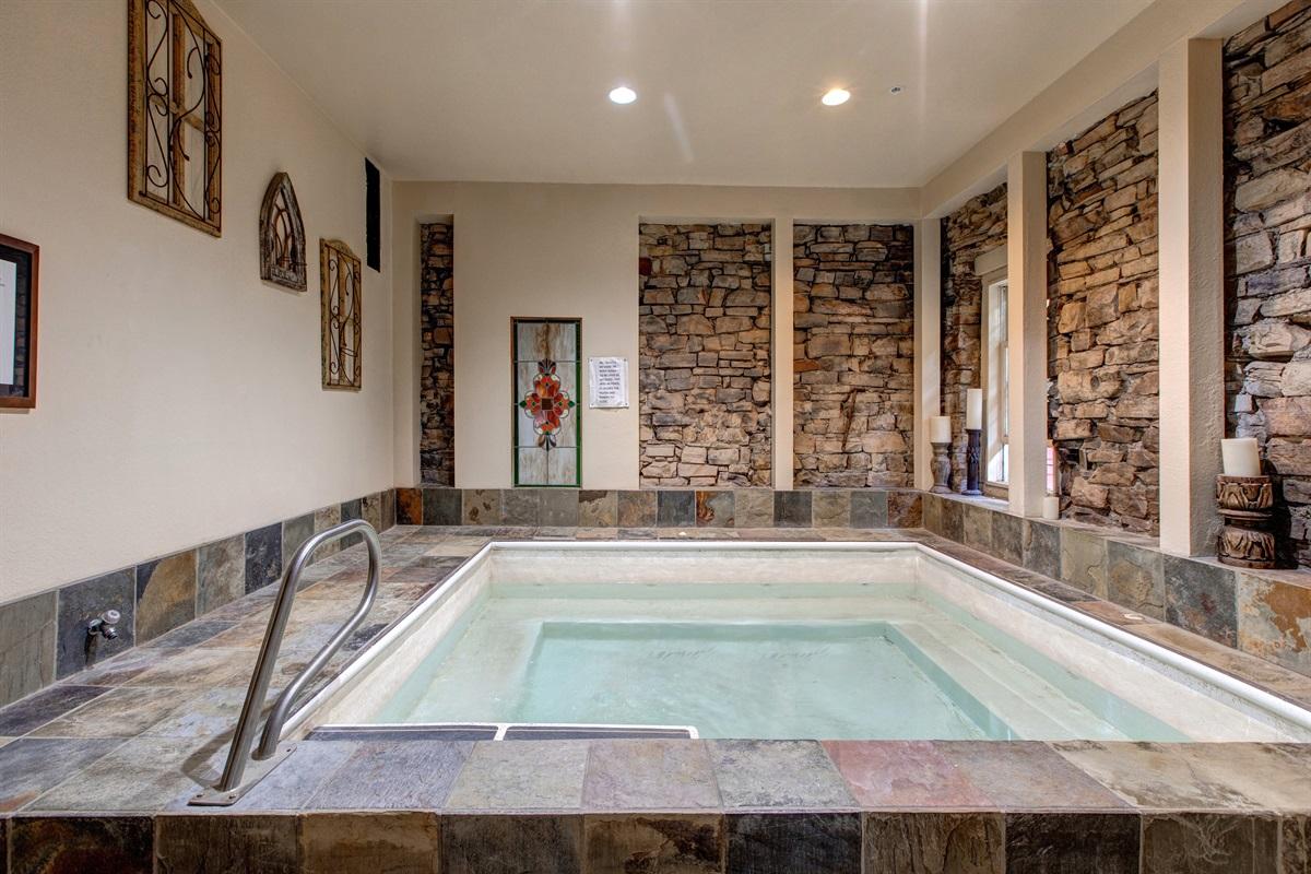 Communal indoor Hot Tub
