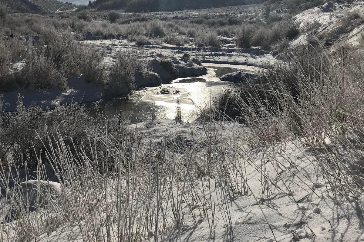 A winter wonderland wherever you look.