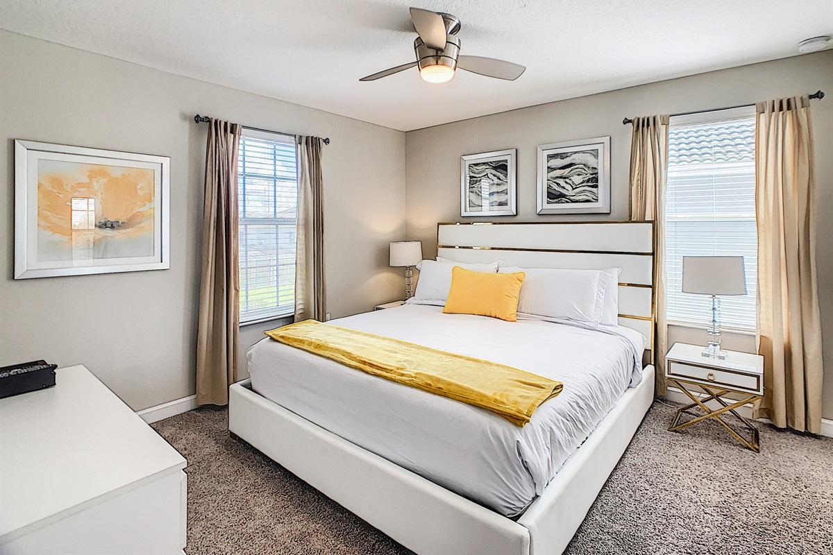 Bedroom #4-2nd Floor-King Bed