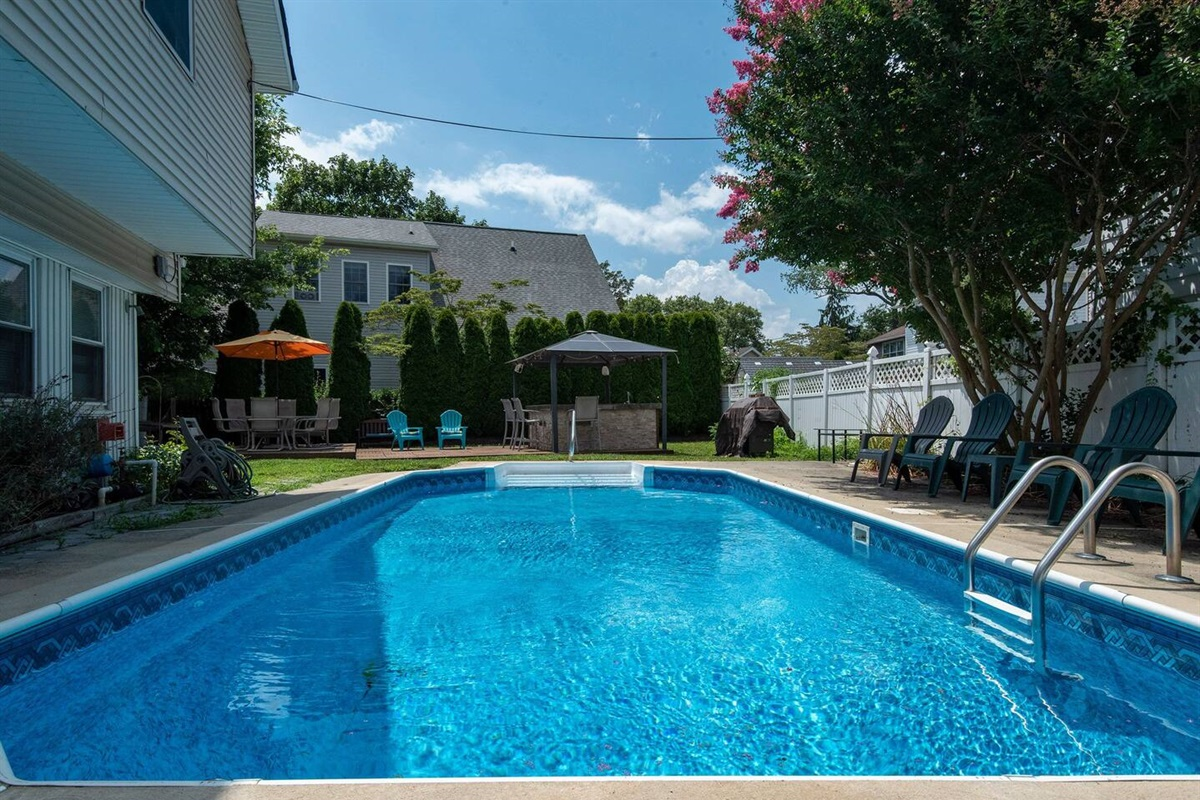 Our gorgeous pool available during summer months.