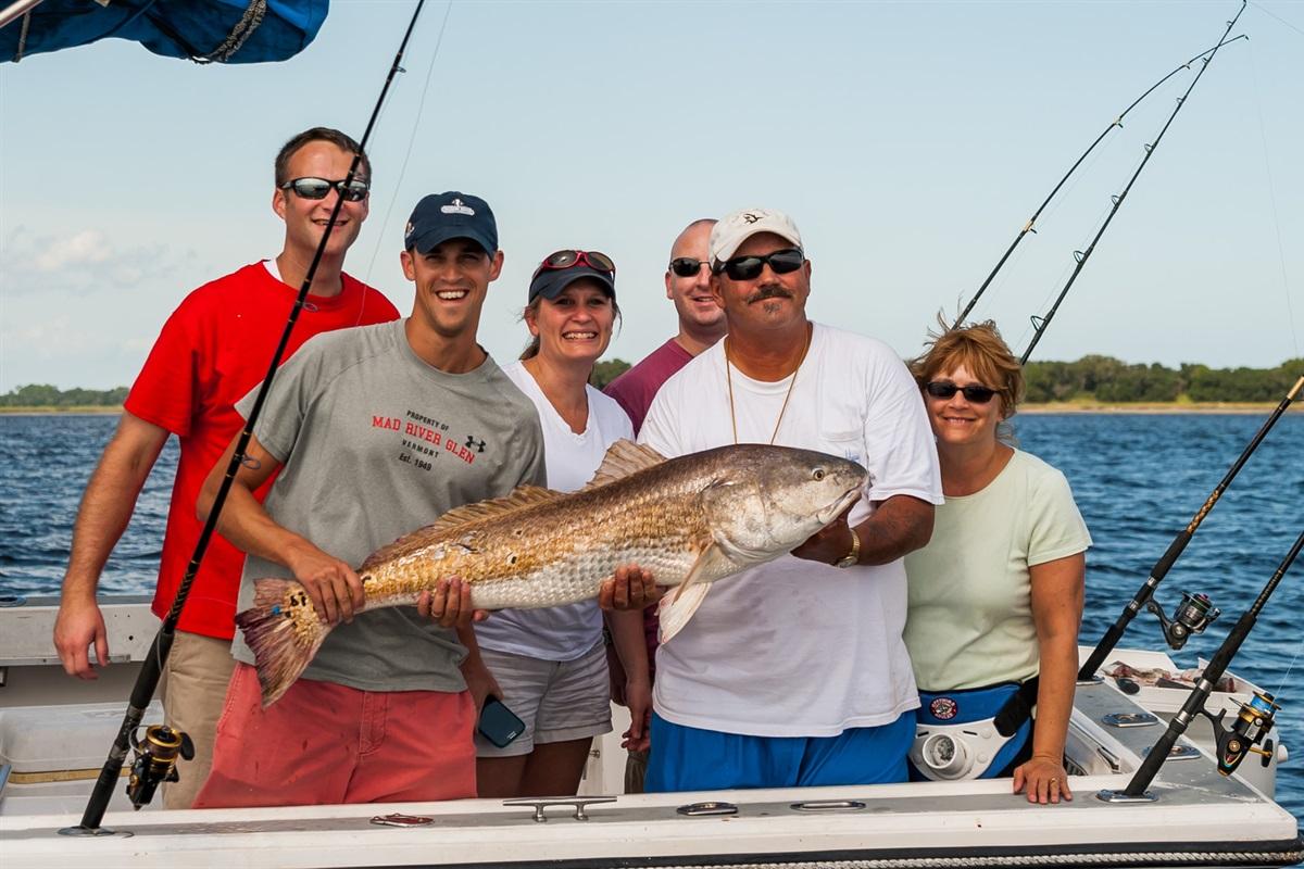 Charter Fishing - Great Fun!