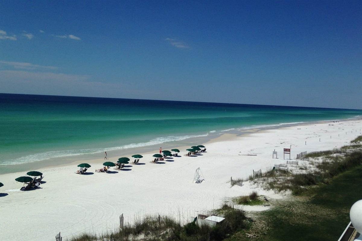 sugar sand beaches