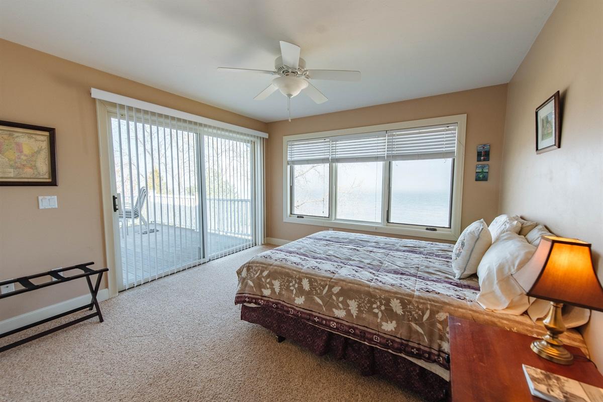 Bedroom #3 w/Outdoor Deck