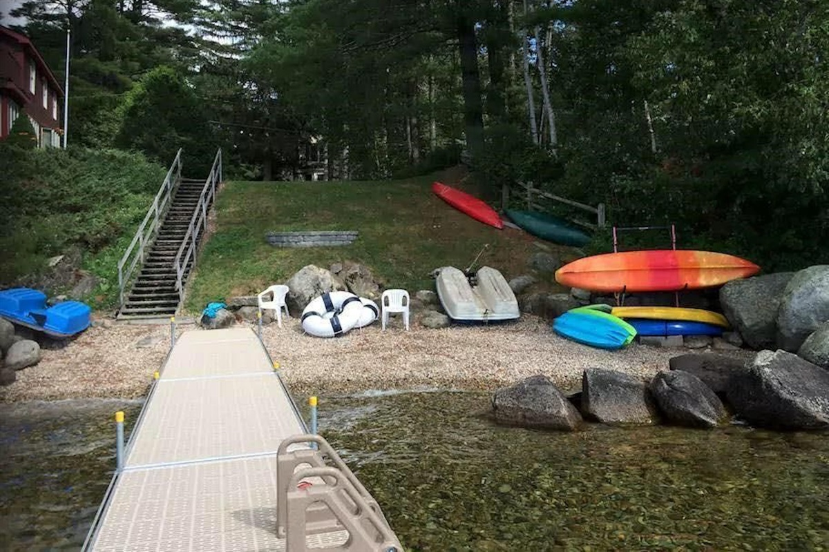 Shared Waterfront Lake Access