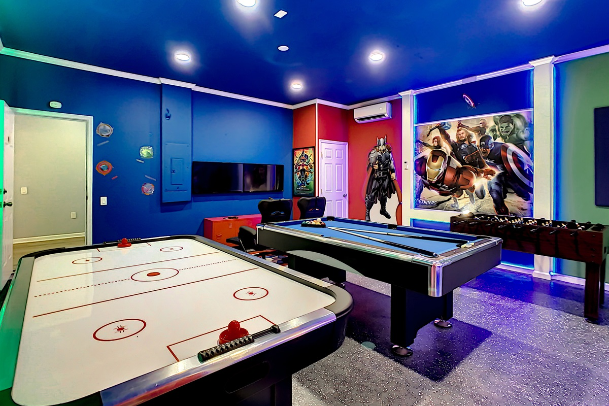 The Air Conditioned Game Room Is Amazing