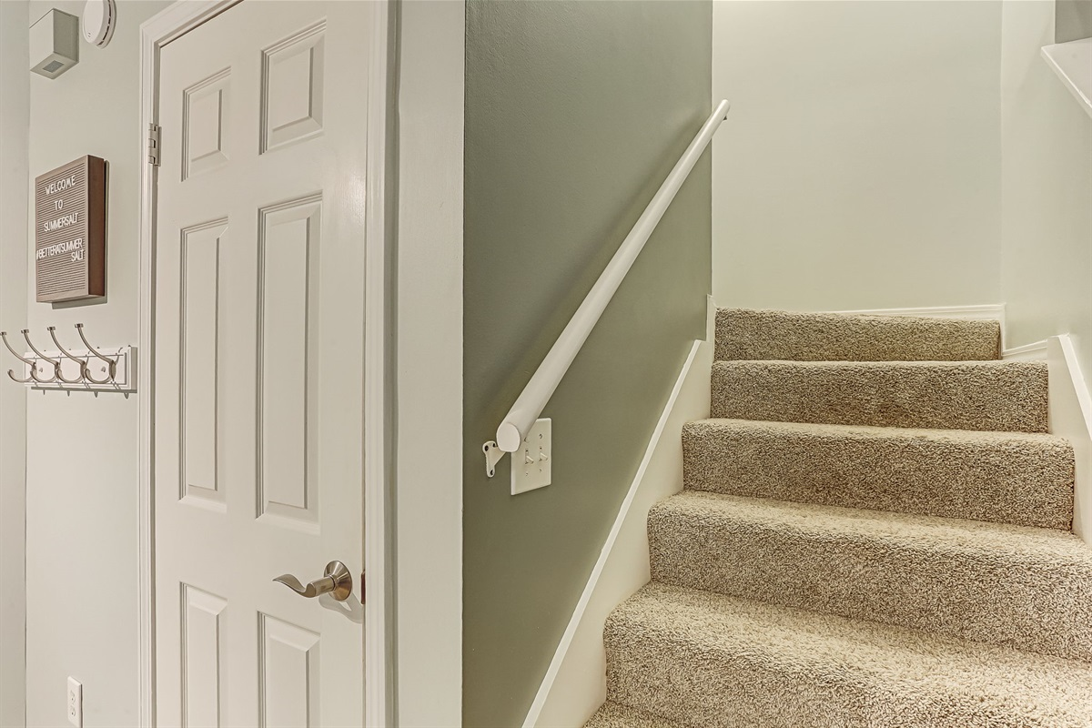 Leading to Upstairs
