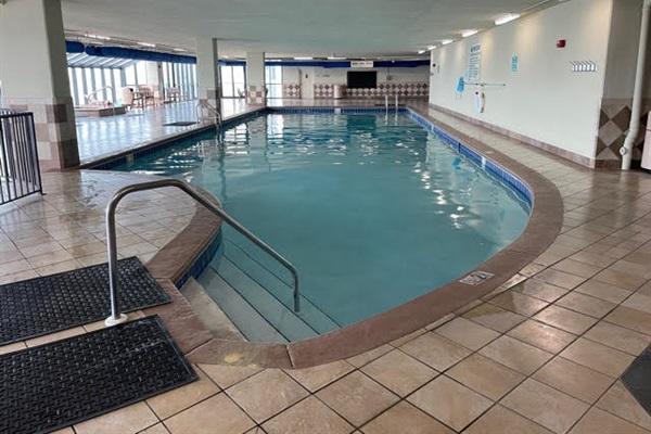 Huge heated indoor pool