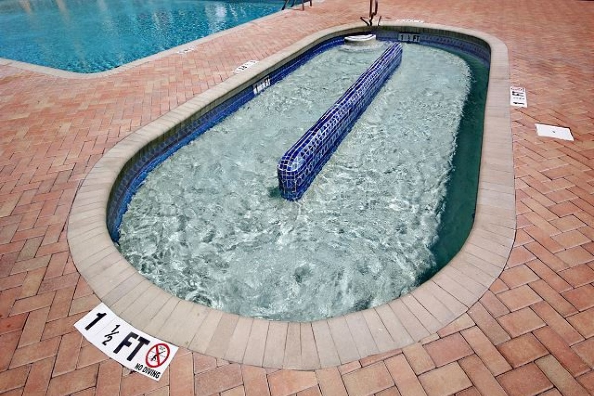 Wading Pool at Resort Building