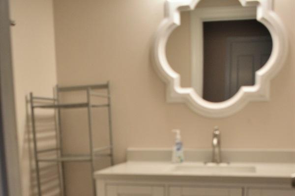 Updated 1st Floor Half Bath