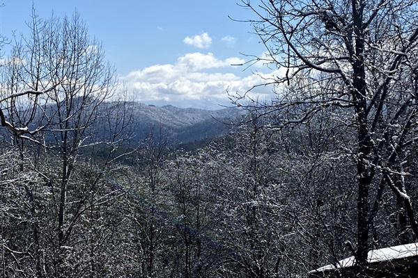Winter Views from our deck!